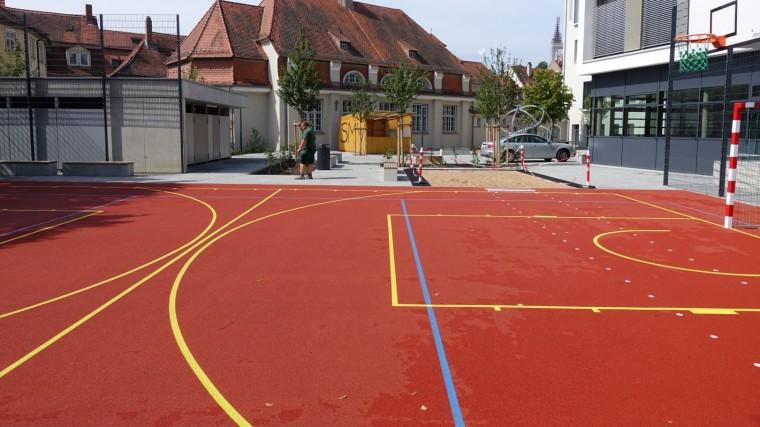 Sportplatz-Typen